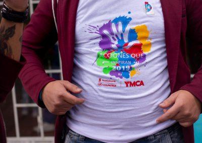 Camiseta de Acciones que inspiran 2019 Scotiabank Colpatria