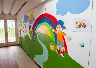 Mural salon Colpatria